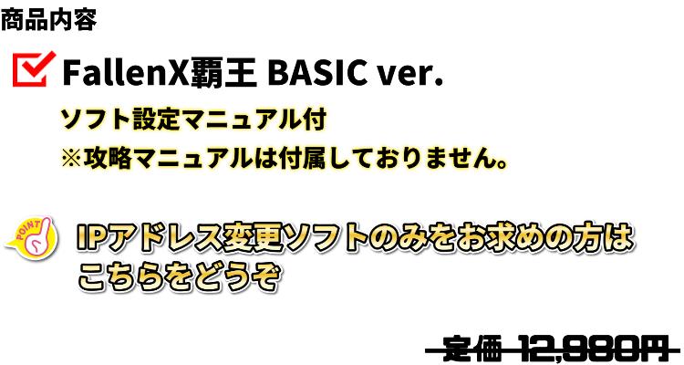 BASICVer商品内容