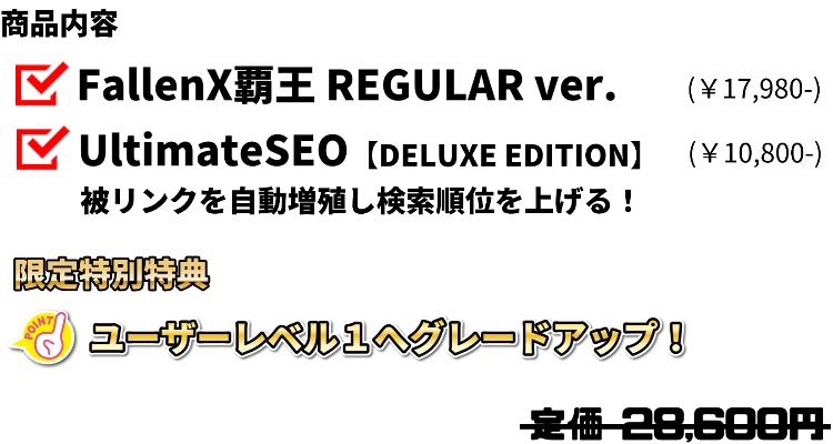 SEO PKG商品内容